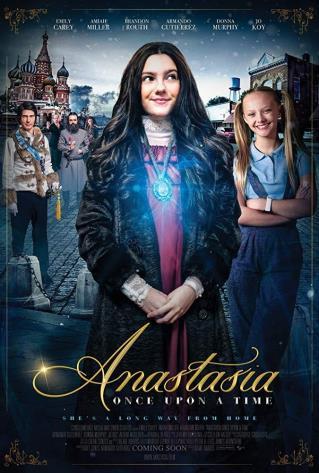 安娜斯塔西娅真人版